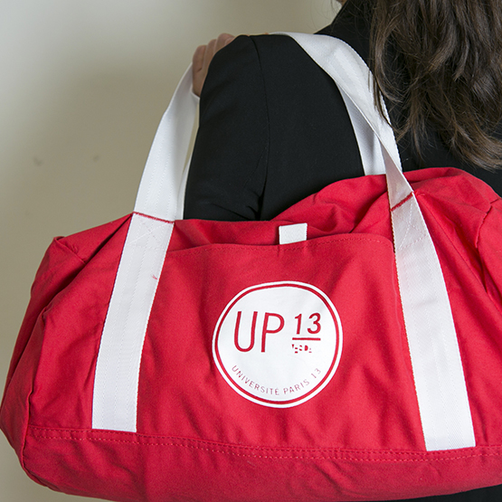 Sac de sport rouge Université Paris 13