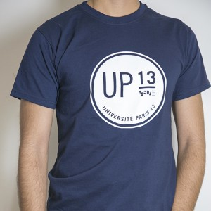 T-shirt homme Université Paris 13